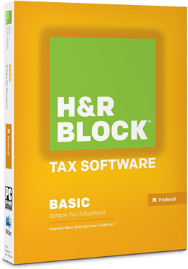 hr block basic 2014 tax software