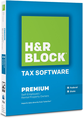 hr block premium 2014 tax software