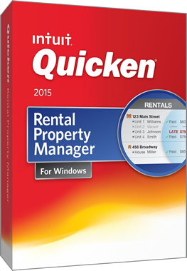 quicken rental property manager 2015 by intuit