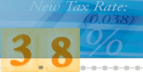 3.8 tax rate for home sales.fw