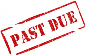 past due taxes