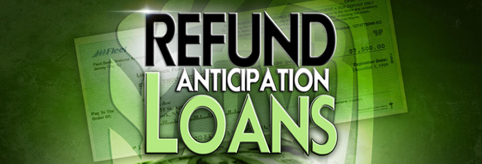 refund anticipation loan