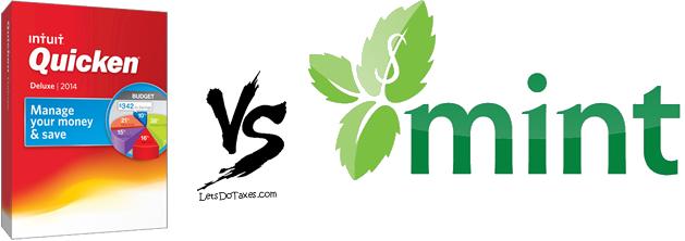 quicken 2014 vs mint