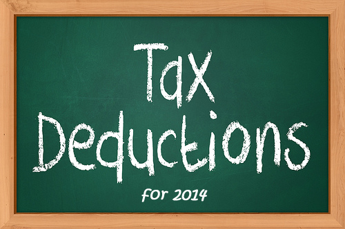 tax deductions and credits 2014