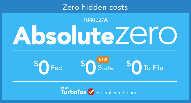 turbotax absolute zero offer