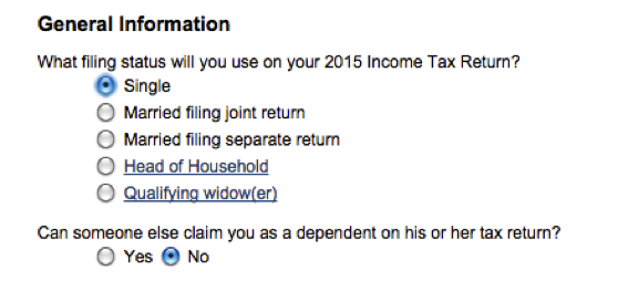 plan tax expenses for 2016 2015 - example 1