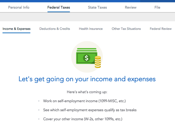 turbotax self employed service code 2019