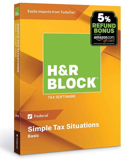 H&R Block Basic 2019 – Discounts & Coupon Codes