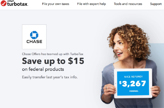 TurboTax Chase Coupon 2021
